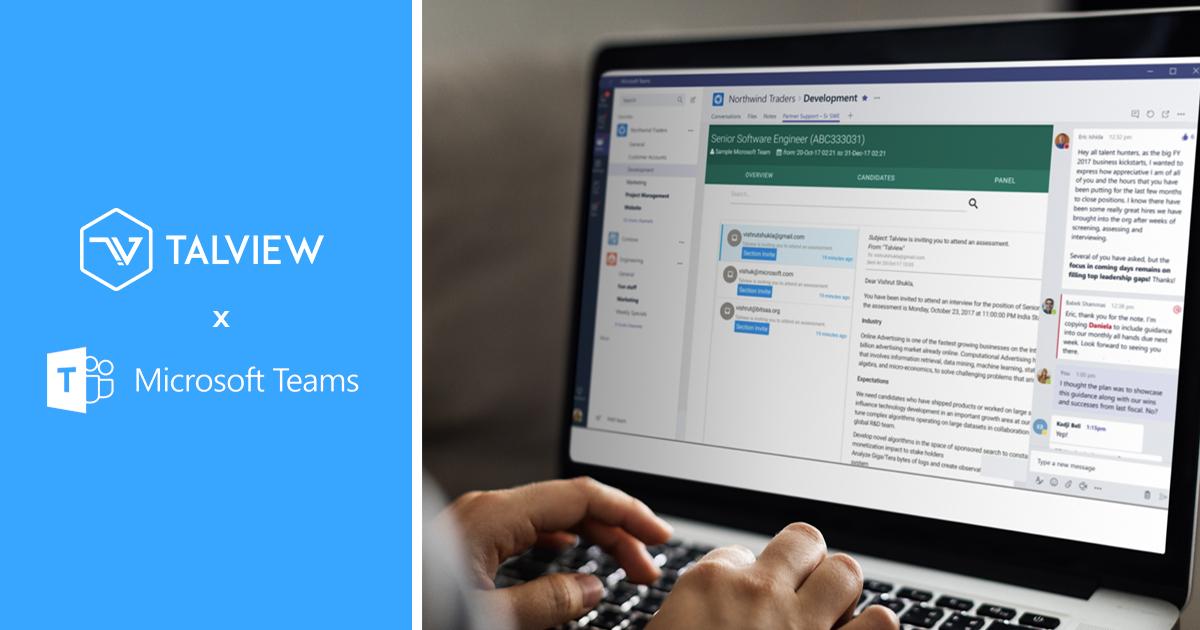 Teams Talview Integration